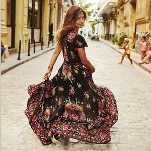 Boho Spanish Style Summer Dress